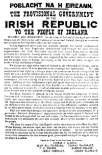 Easter Rising Proclamation